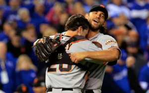 That's how we'd all hug Madison Bumgarner right now.